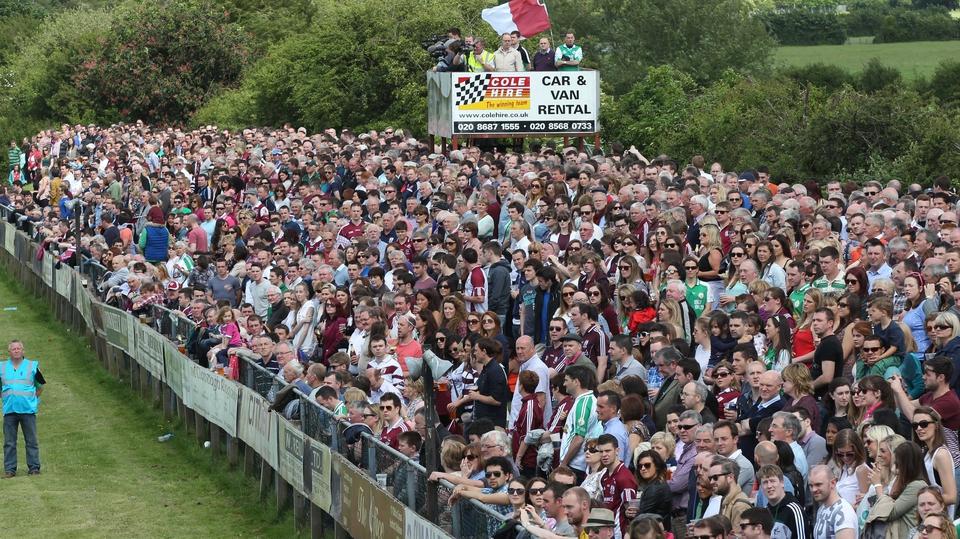A healthy crowd was in attendance in London