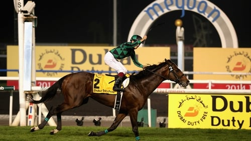 Sectional time enthusiasts have been slavering over Just A Way since his monstrous run in the Dubai Duty Free on World Cup night at Meydan