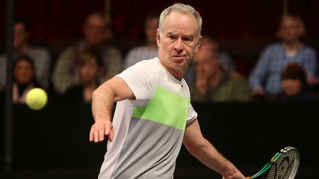 John McEnroe has been tipped to take over as Andy Murray's coach