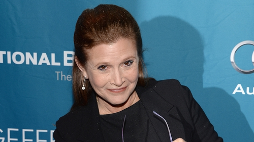 Carrie Fisher is among Brendan O'Connor's guests on this week's Saturday Night Show