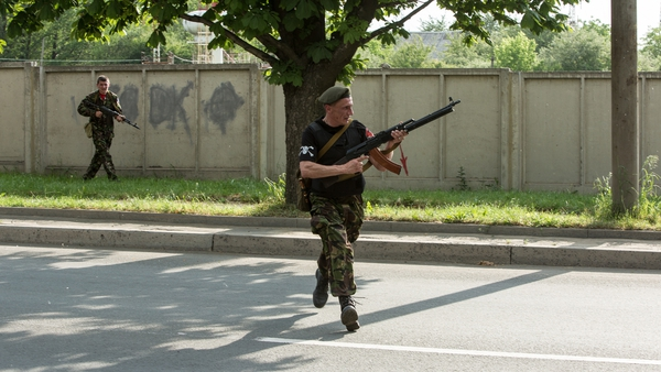 Separatists have been battling Ukrainian forces after seizing the city's international airport