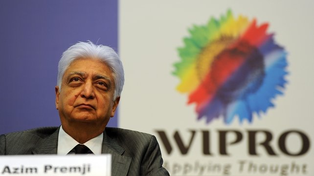 Wipro chairman Azim Premji - the firm is creating 100 new jobs in Shannon