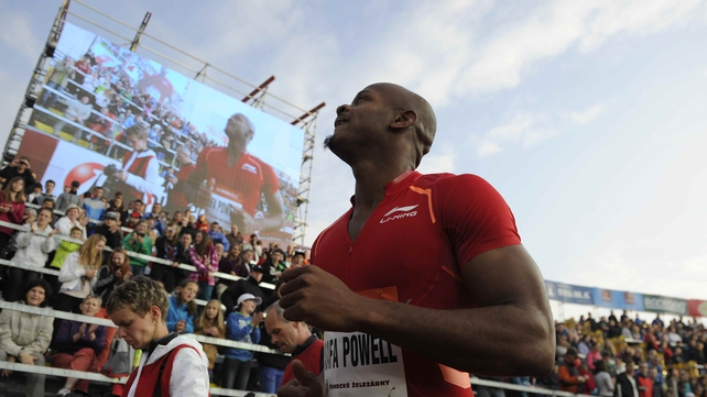 Asafa Powell hopes to return to the track in Glasgow later this year