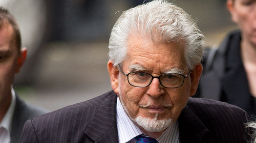 Rolf Harris told jurors that he is a 'touchy-feely sort of person'