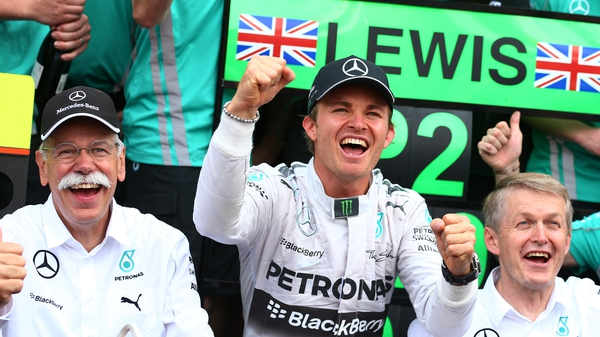 Nico Rosberg currently leads the drivers championship