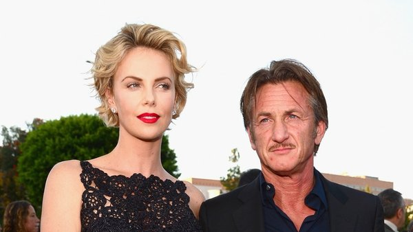 Charlize Theron and Sean Penn