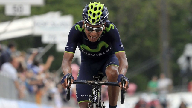 Nairo Quintana is out of the Vuelta a Espana
