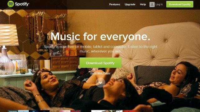 Users of music streaming service Spotify may be asked to upgrade their software or re-enter their username and password