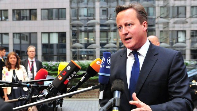 British Prime Minister David Cameron said that Europe could not 'shrug off' the European election results