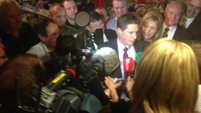 Sinn Féin's Matt Carthy was elected on the seventh count