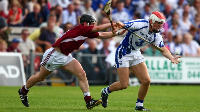 Eddie Barrett in action against Westmeath last year