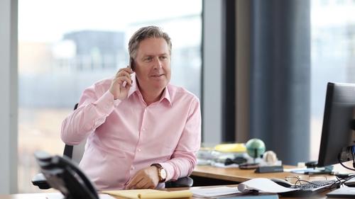 Three Ireland CEO Robert Finnegan