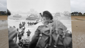 Commandos of 1st Special Service Brigade land on 'Queen Red' Beach in the Sword Area at la Breche