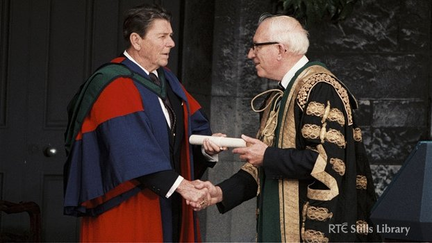 Ronald Reagan Receives Honorary Degree at UCG