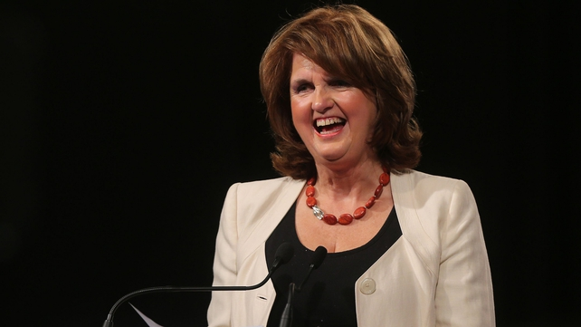 Joan Burton has said she does not agree with Minister for Health James Reilly's claims
