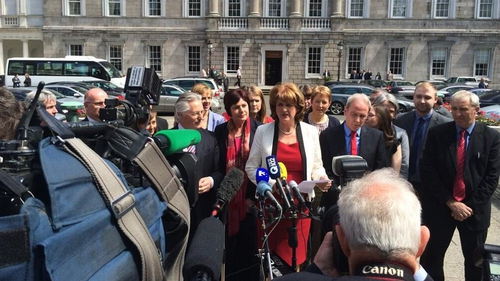 Joan Burton will run for leadership of the Labour Party