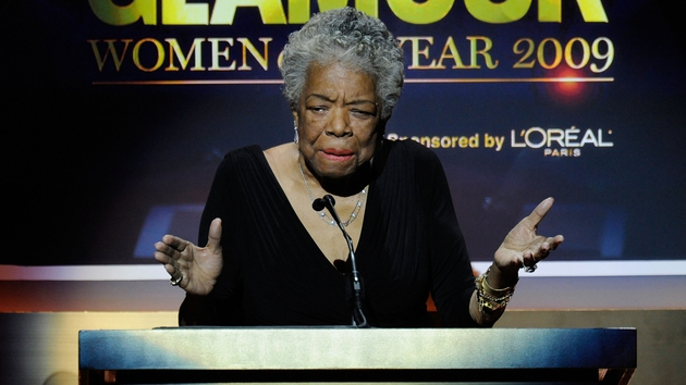 Writer and poet Maya Angelou passed away at her home aged 86.