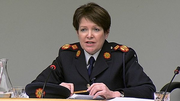 Interim Garda Commissioner Noirín O'Sullivan said she had forwarded allegations to the Minister for Justice