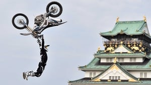 Remi Bizouard of France with Kawasaki KXF450 competes during the Red Bull X-Fighters World Tour in Osaka, Japan