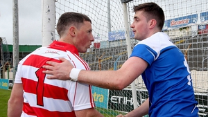 Cork's goalkeeper Anthony Nash and Waterford netminder Stephen O' Keeffe after the drawn Munster SHC game