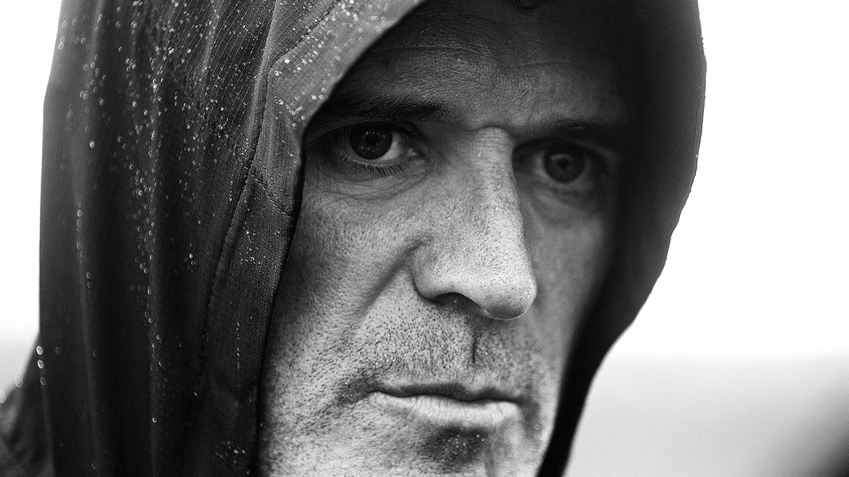 Roy Keane in full-on scary mode at Republic of Ireland training