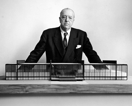 Mies van der Rohe, architect