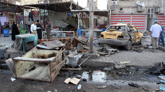 Over 74 killed in spate of attacks across Baghdad