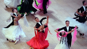 Couples from all over the world gather in the UK for the British Open Championships at the Blackpool Dance Festival