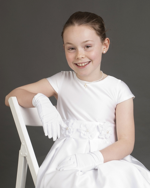 Anne Doran Photography - Mairéad in communion outfit 10.05.14