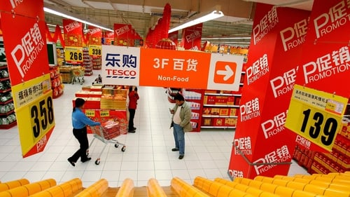 Tesco has 20% stake in Chinese joint venture