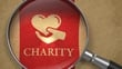Charity donations creep up ... slowly