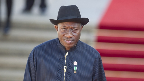 Goodluck Jonathan said he was determined to protect Nigerian democracy