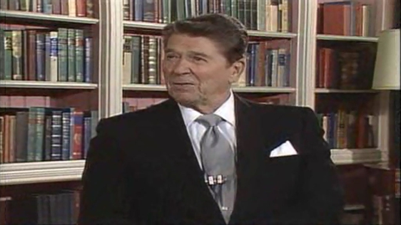 Ronald Reagan Prepares To Visit Ireland