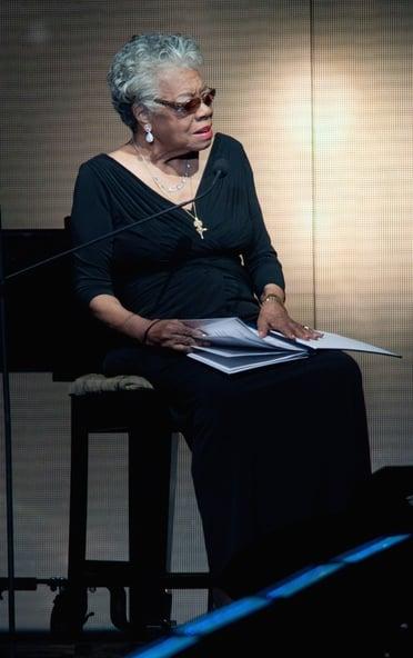 Beloved writer and poet, Maya Angelou died aged 86.