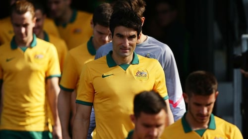 Captain Mile Jedinak will look to lead an upset as one of the 'underdogs' in Brazil