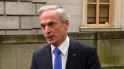 Minister Richard Bruton attending the Deloitte Enterprise Ireland CEO Forum in Dublin Castle today