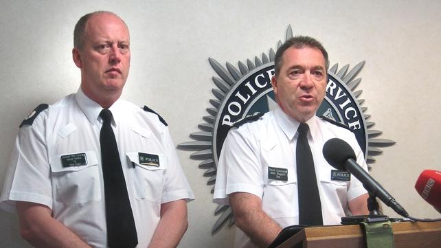 George Hamilton (left) will take over from Chief Constable Matt Baggott (right)