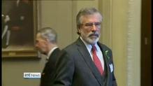 Adams briefs US politicians over Haass proposals
