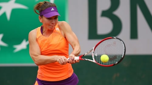 Simona Halep won the girls' singles title at Roland Garros in 2008