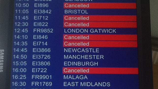 26 Aer Lingus flights out of Cork Airport have been cancelled