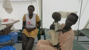 Young children have been among the first treated at the new centre. Oral rehydration salts help to cure symptoms including serious diarrhoea (Pic: Suzan Kiiko/MSF)