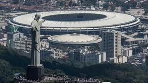 Maracanã, Rio de Janeiro: 71,159 seats, originally built as the flagship venue for the 1950 World Cup Maracanã, Rio de Janeiro: 71,159 seats, originally built as the flagship venue for the 1950 World Cup