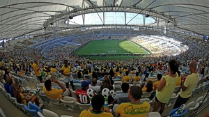 Maracanã was constructed to become the 'biggest football stadium in the world'