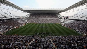 Arena Corinthians opened on 18 May 2014, following a fatal crane collapse that delayed construction