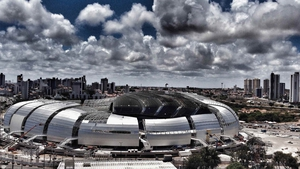 Arena das Dunas, Natal: 43,000 seats, built for the 2014 World Cup