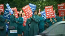 Over 200 flights cancelled as Aer Lingus cabin crew stage strike
