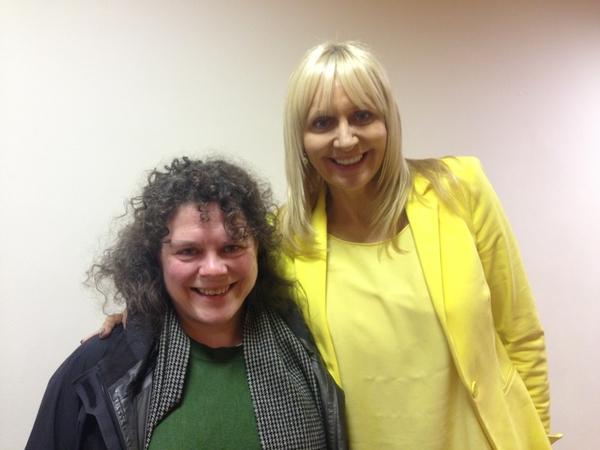 Lynn Parker and Miriam