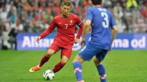 Cristiano Ronaldo has yet to train with the Portugal Squad