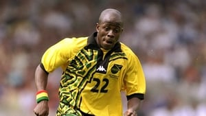 We'll start things off gently with this Jamaican kit from 1998. Without wishing to get into national stereotyping, it's easy to imagine that the designer of this one was a fan of some of the more illicit Jamaican substances