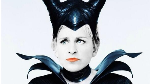 Ellen DeGeneres pitches 'Elleficent' sequel to Maleficent